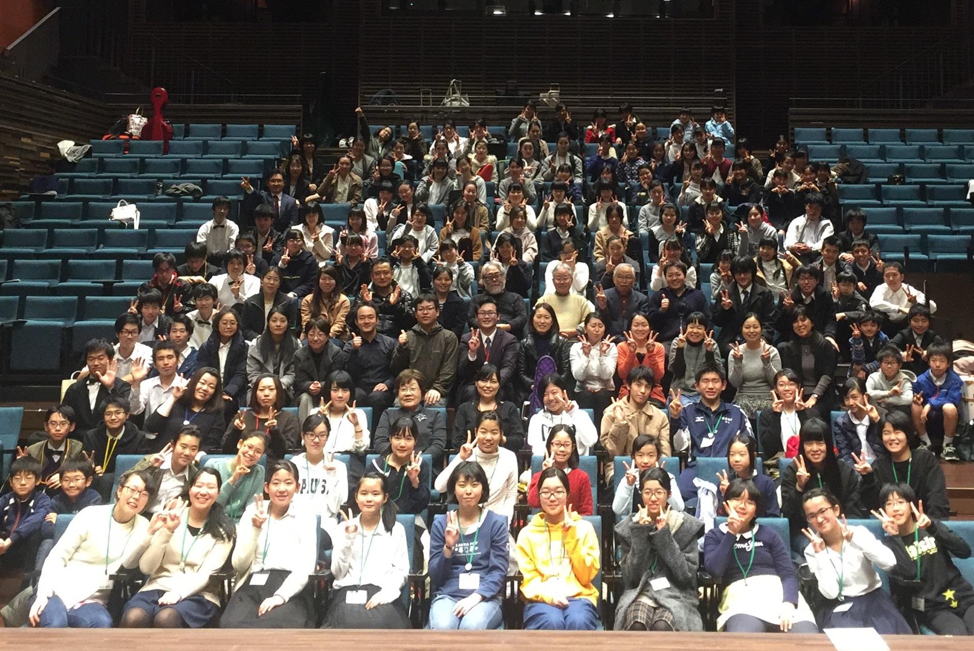 出雲×東広島Xmasジョイントコンサートを開催しました