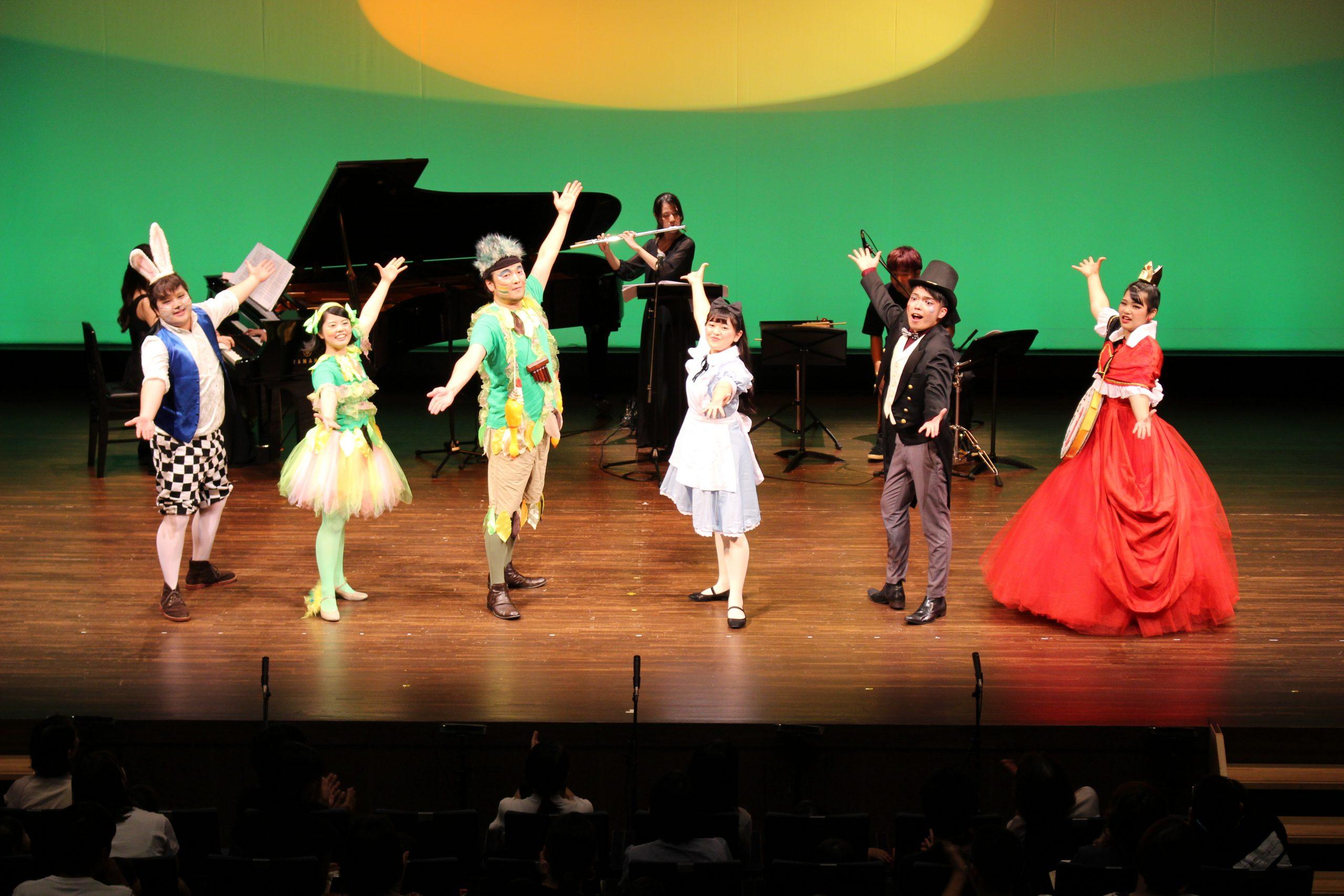 こどものためのミニオペラ「人魚姫と海のなかまたち」
